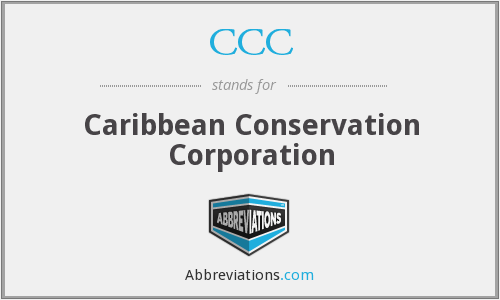 CCC - Caribbean Conservation Corporation
