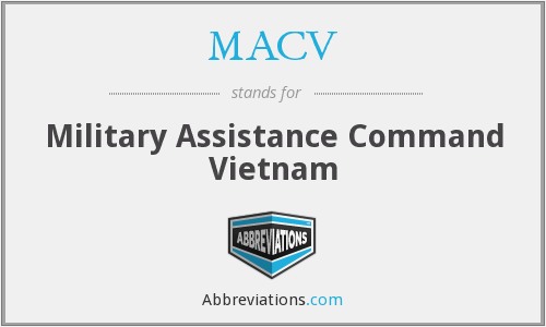 What does MACV stand for?