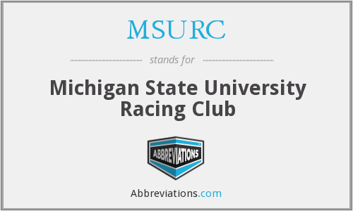 MSURC - Michigan State University Racing Club