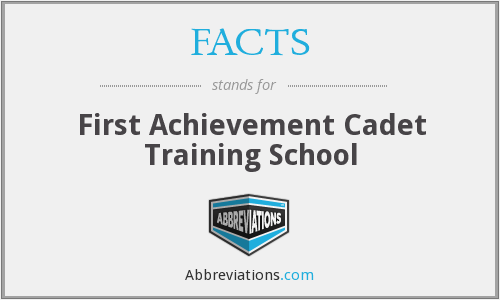 FACTS - First Achievement Cadet Training School