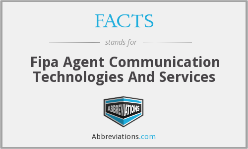 FACTS - Fipa Agent Communication Technologies And Services