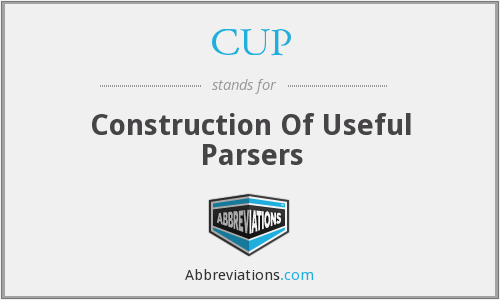 CUP - Construction Of Useful Parsers