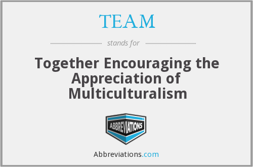 TEAM - Together Encouraging the Appreciation of Multiculturalism