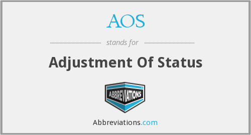 What does AOS stand for?