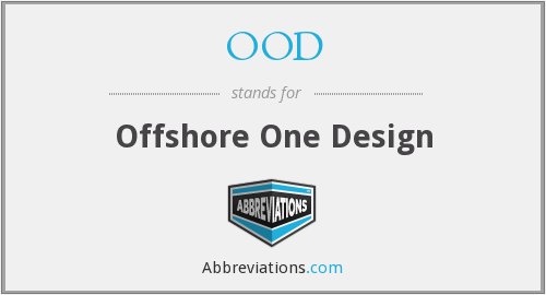 OOD - Offshore One Design