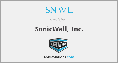 What does SNWL stand for?