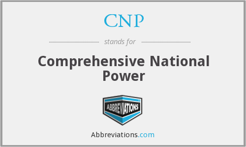 CNP - Comprehensive National Power