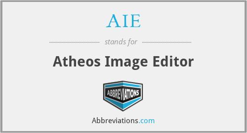 AIE - Atheos Image Editor