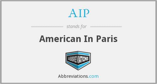 AIP - American In Paris
