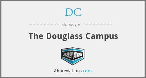 DC - The Douglass Campus