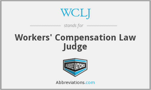 What does WCLJ stand for?
