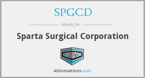 What does SPGCD stand for?