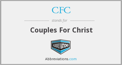 CFC - Couples For Christ