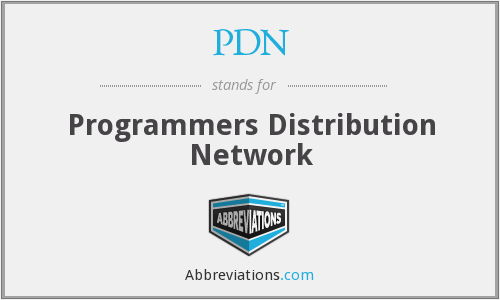PDN - Programmers Distribution Network