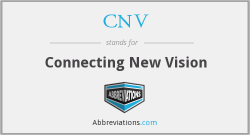 CNV - Connecting New Vision