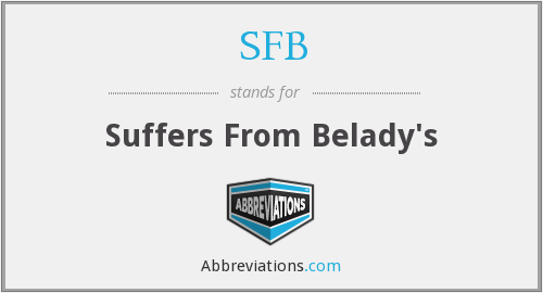 SFB - Suffers From Belady's