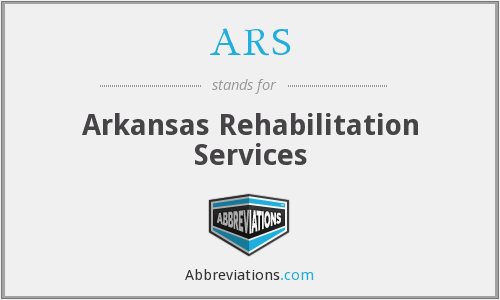 ARS - Arkansas Rehabilitation Services