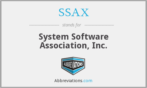 SSAX - System Software Association, Inc.