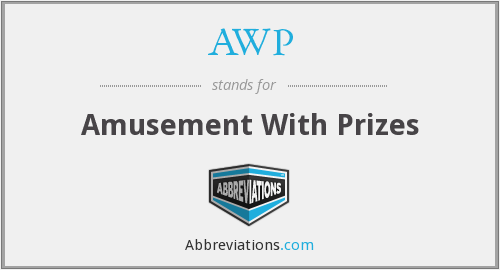 AWP - Amusement With Prizes