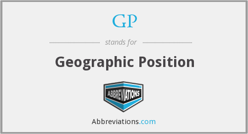 GP - Geographic Position