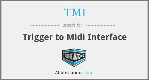 TMI - Trigger to Midi Interface