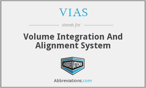 VIAS - Volume Integration And Alignment System