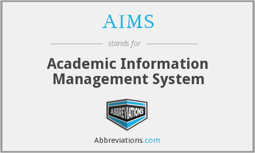 AIMS - Academic Information Management System