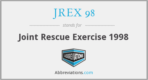 JREX 98 - Joint Rescue Exercise 1998