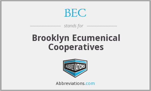 BEC - Brooklyn Ecumenical Cooperatives