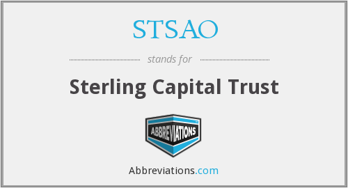 What does STSAO stand for?