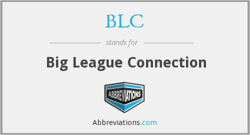 BLC - Big League Connection