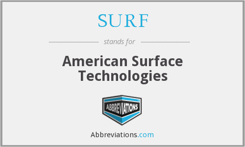 SURF - American Surface Technologies