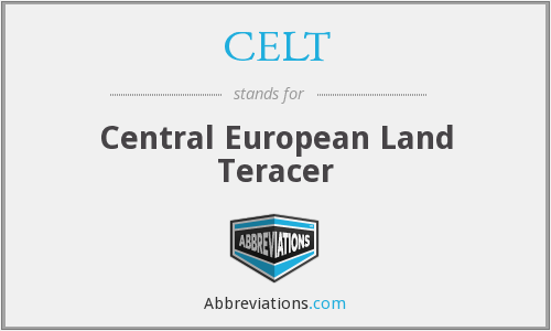 CELT - Central European Land Teracer