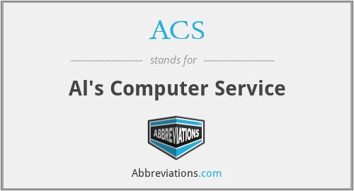 ACS - Al's Computer Service