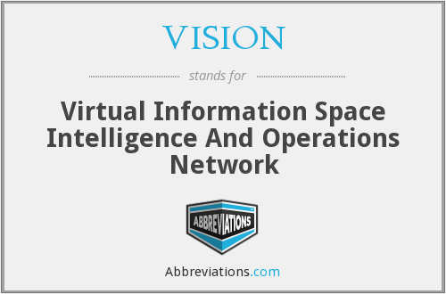 VISION - Virtual Information Space Intelligence And Operations Network