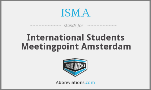 ISMA - International Students Meetingpoint Amsterdam