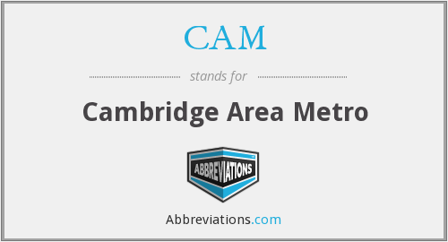 CAM - Cambridge Area Metro