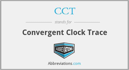CCT - Convergent Clock Trace