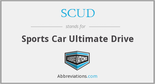 SCUD - Sports Car Ultimate Drive