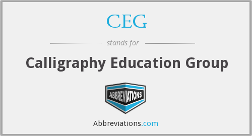 CEG - Calligraphy Education Group