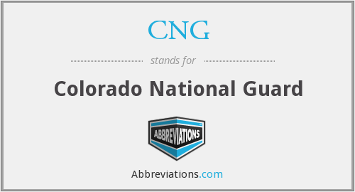 CNG - Colorado National Guard