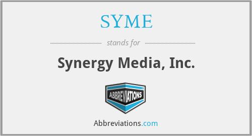 SYME - Synergy Media, Inc.