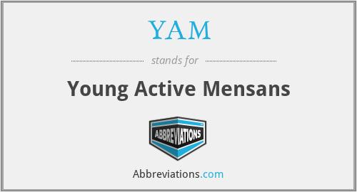 YAM - Young Active Mensans