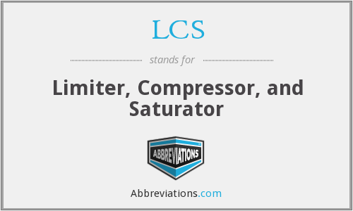 LCS - Limiter, Compressor, and Saturator