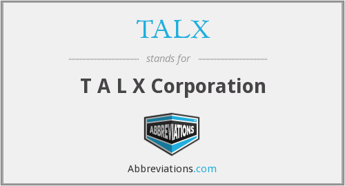 What does TALX stand for?