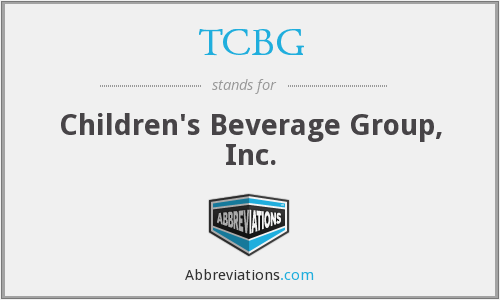 TCBG - Children's Beverage Group, Inc.