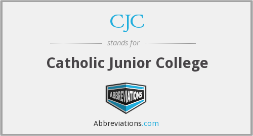 CJC - Catholic Junior College