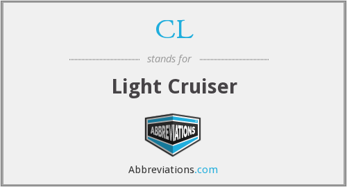 CL - Light Cruiser