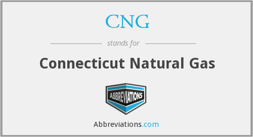 CNG - Connecticut Natural Gas