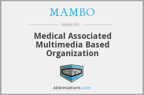 MAMBO - Medical Associated Multimedia Based Organization